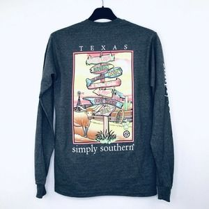 Simply Southern M Shirt Texas